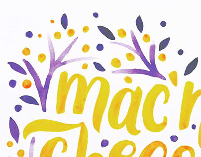 Watercolor Typography Collection III
