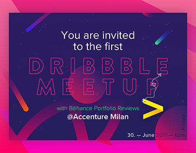 Dribbble Meetup @Accenture Digital Milano 30/06/2017