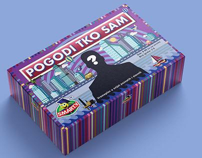 Educational game for kids - Box design