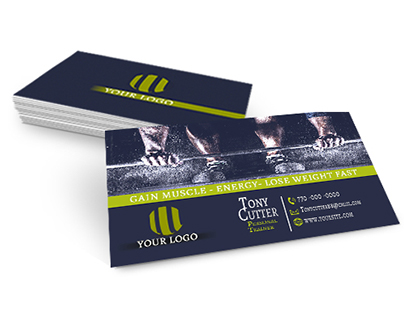 Free Personal Trainer / Fitness Business Cards