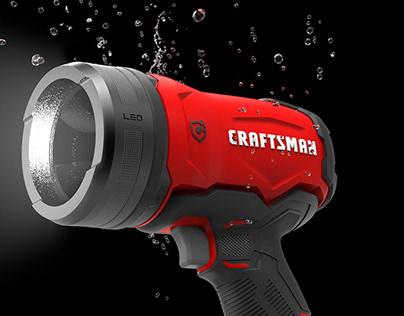 CRAFTSMAN Waterproof Spotlight