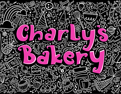 Charly's Bakery Tote Bag Illustration