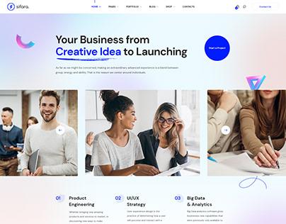 Sifara - Startups & Agencies WordPress Theme