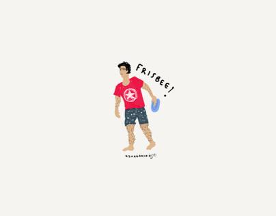 El Frisbee de moda