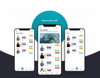 app ui & ux design
