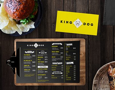 Identidad King Dog