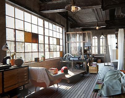 Brooklyn NYC Loft