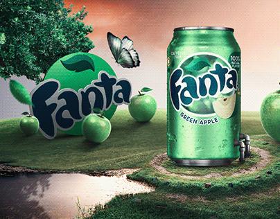 Fanta Green Apple Ads