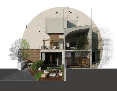 Архитектурные иллюстрации для сайта компании 3-DOTS