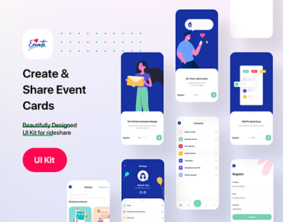 Evento App Ui Kit