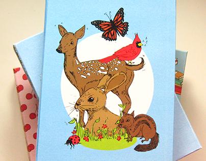 Woodland Creatures Illustration | Custom Planner