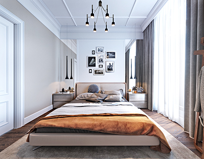 """Modern classic badroom. Design with """"Martin architects"""""""