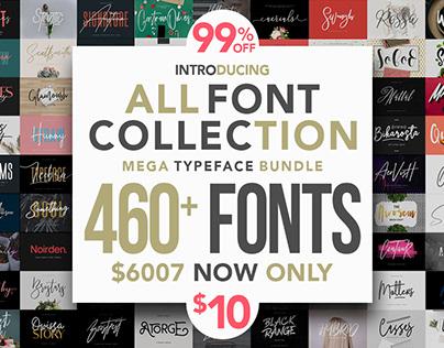 Mega Typeface Bundle