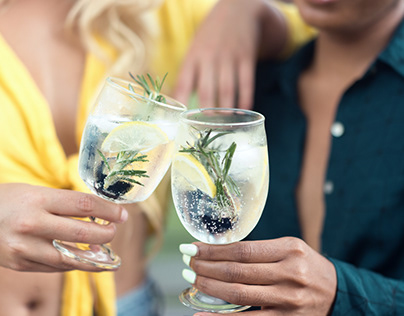 Summer Lifestyle Shoot ft. Handblown Glass Cups