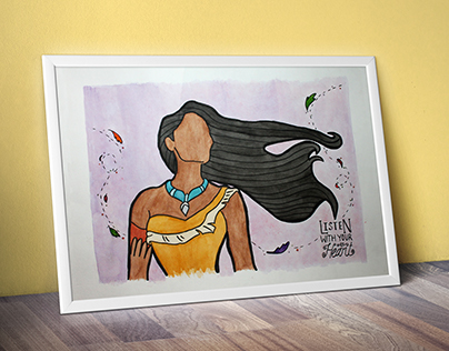 Watercolor and Ink Paintings