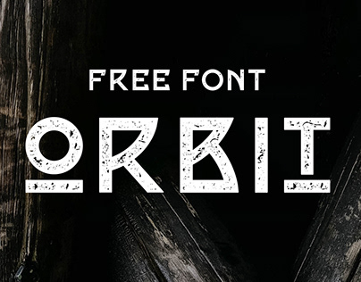 ORBIT - FREE DISPLAY FONT