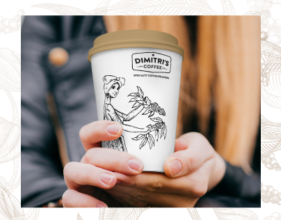Packaging Design for DIMITR'S Coffee
