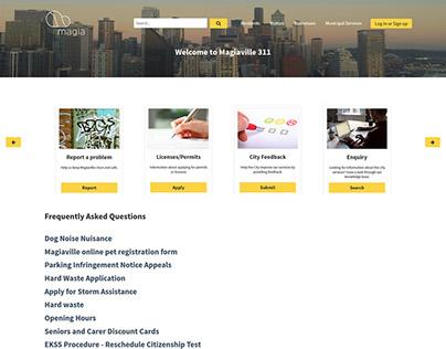 MagiaCX - Local Government Demo Site