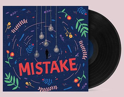 Music album cover illustration - Mistake