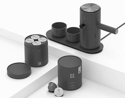 DADO : minimal capsule tea machine