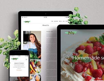 Website - Yatay Catering
