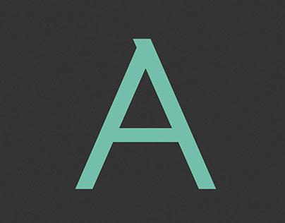 APRIL typeface