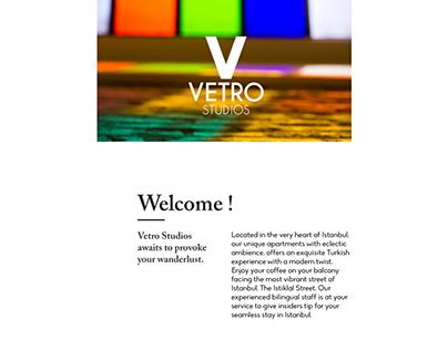 Vetro Studios Branding Project