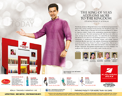 Kalyan Silks Ads