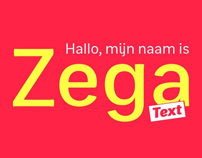 Zega Text Type Family