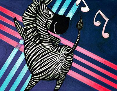Rave Zebra