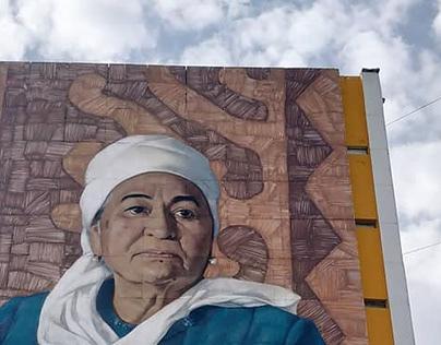 Mural art by Tıgrohaud crew. 2018