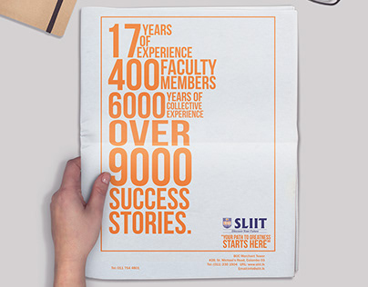 Your Path To Greatness Starts Here (SLIIT Creative)