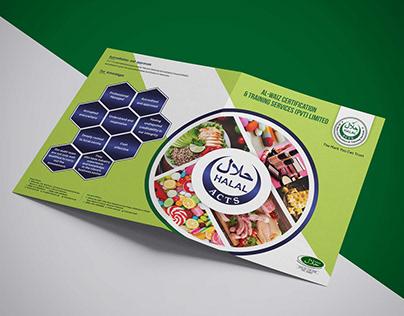 Halal Al-Waiz Brochure Design Front & Back