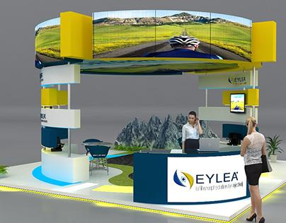 Eylea Booth 7m x 7m