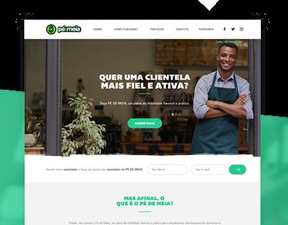 Pé de Meia - Website