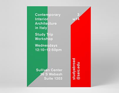 Study Trip Workshop Posters