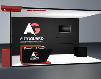 AutoGuard 3D booth design