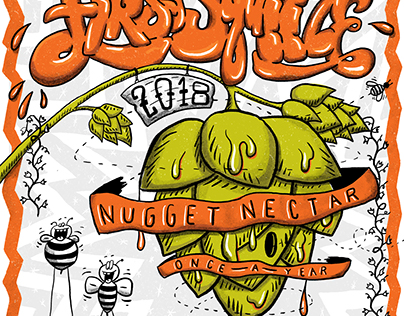 Tröegs Nugget Nectar Poster