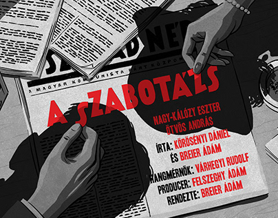 The Sabotage | Radioplay Poster