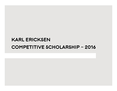 Various work for MICA Competitive Scholarship - 2016