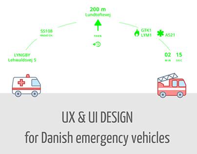 LuxC Head-up Display | UX & UI Design for emergencies
