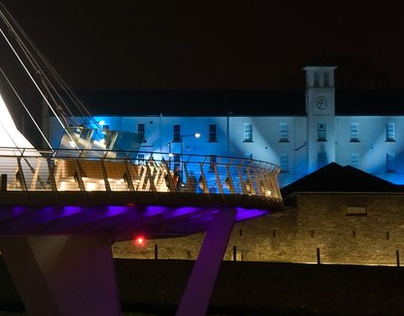 Ebrington Valentines Launch Projection Mapping 2012
