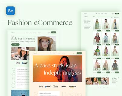 Fashion eCommerce Add To Cart & Category UIUX