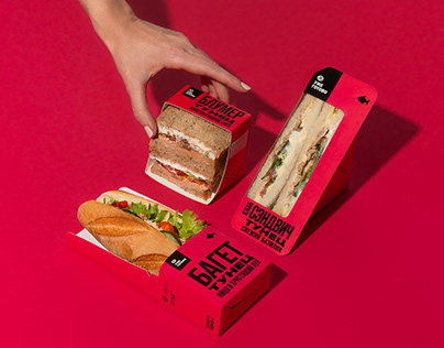 Av Street food packaging