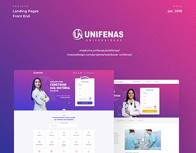 Landing Pages Unifenas