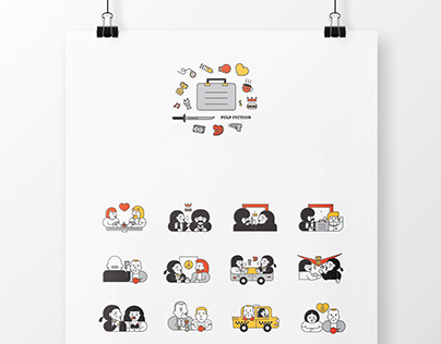 Pulp Fiction in 20 Icons