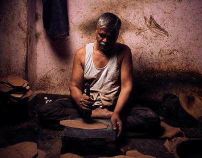 """Vhaan Ethnic Crafts"" - Footwear Craftsmen in India"