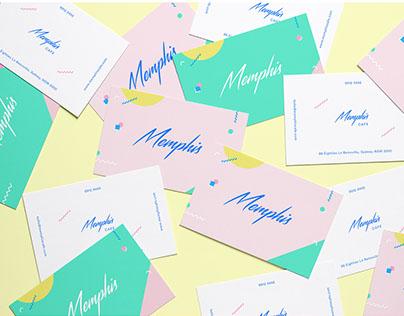Memphis Cafe | Branding & Website Concept