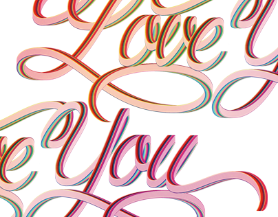 Love you ♥ Lettering