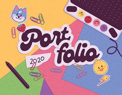 PORTFOLIO 2020 - Illustration and Graphic Design
